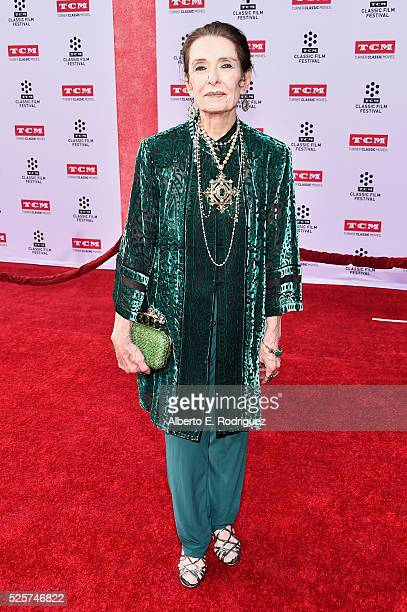 Actress Margaret O'Brien attends 'All The President's Premiere' during the TCM Classic Film Festival 2016 Opening Night on April 28 2016 in Los...