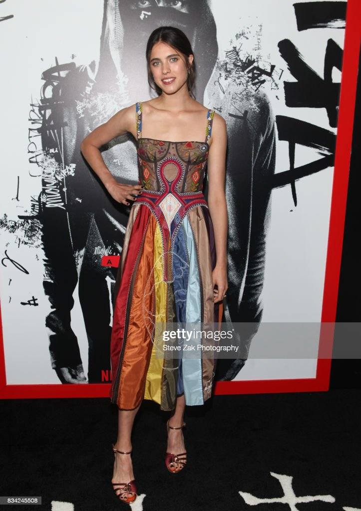 Actress Margaret Qualley attends 'Death Note' New York premiere at AMC Loews Lincoln Square 13 theater on August 17, 2017 in New York City.