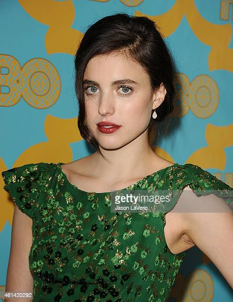 Actress Margaret Qualley attends HBO's post Golden Globe Awards party at The Beverly Hilton Hotel on January 11 2015 in Beverly Hills California