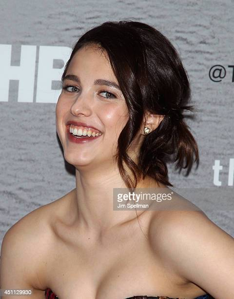 """Actress Margaret Qualley attends """"The Leftovers"""" premiere at NYU Skirball Center on June 23, 2014 in New York City."""
