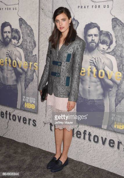 Actress Margaret Qualley attends the premiere of HBO's 'The Leftovers' Season 3 at Avalon Hollywood on April 4 2017 in Los Angeles California