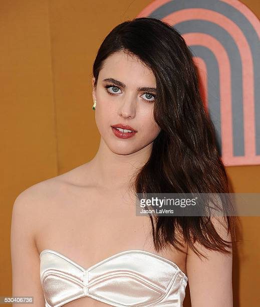 Actress Margaret Qualley attends the premiere of 'The Nice Guys' at TCL Chinese Theatre on May 10 2016 in Hollywood California
