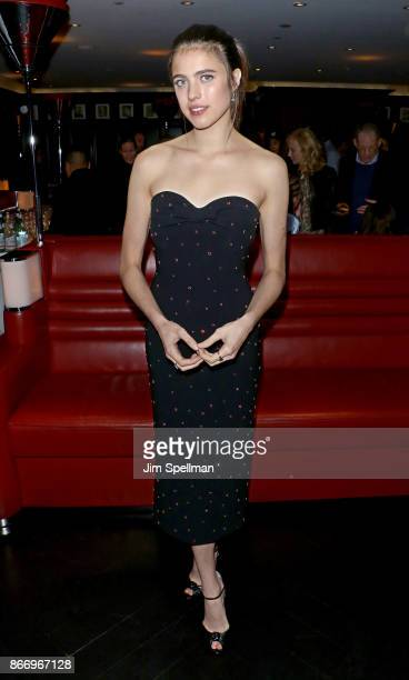 Actress Margaret Qualley attends the screening after party for Sony Pictures Classics' 'Novitiate' hosted by Miu Miu and The Cinema Society at The...