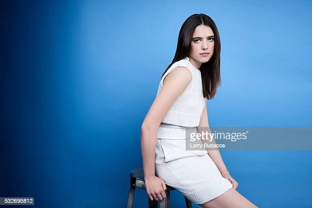 Actress Margaret Qualley poses for a portrait at the Tribeca Film Festival on April 18 2016 in New York City