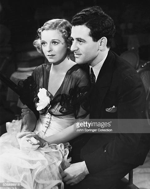 Actress Margaret Sullavan and director William Wyler Sullavan is starring in the 1935 film The Good Fairy which is being directed by her husband Wyler