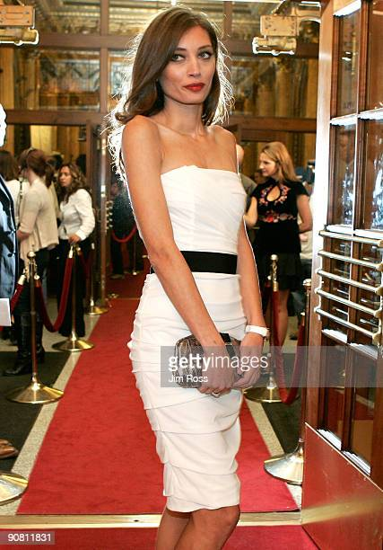 Actress Margareth Made arrives at the Baaria screening during the 2009 Toronto International Film Festival on September 15 2009 in Toronto Canada