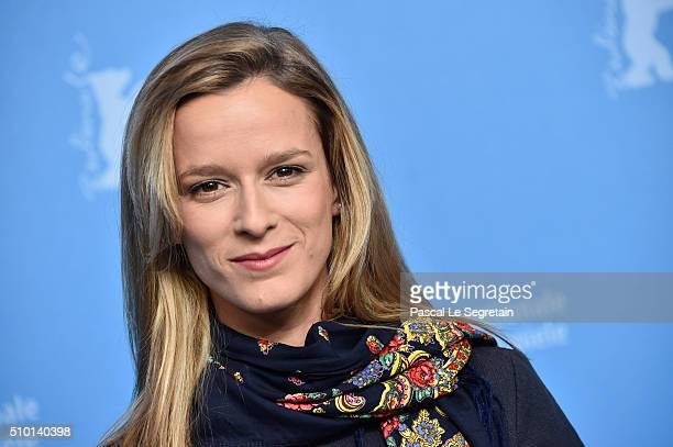 Actress Margarida VilaNova attends the 'Letters from War' photo call during the 66th Berlinale International Film Festival Berlin at Grand Hyatt...
