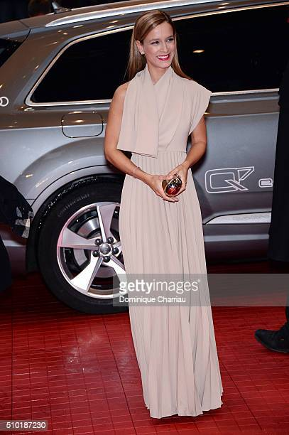Actress Margarida VilaNova attends the 'Letters from War' premiere during the 66th Berlinale International Film Festival Berlin at Berlinale Palace...