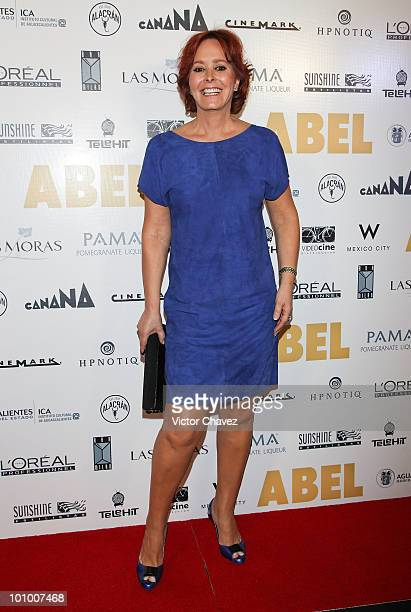 Actress Margarita Gralia attends the Abel Mexico City Premiere at Cinemark Reforma 222 on May 25 2010 in Mexico City Mexico