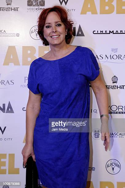 Actress Margarita Gralia poses for a photograph at the Red carpet of the film Abel at Cinemark Reforma on May 25 2010 in Mexico City Mexico