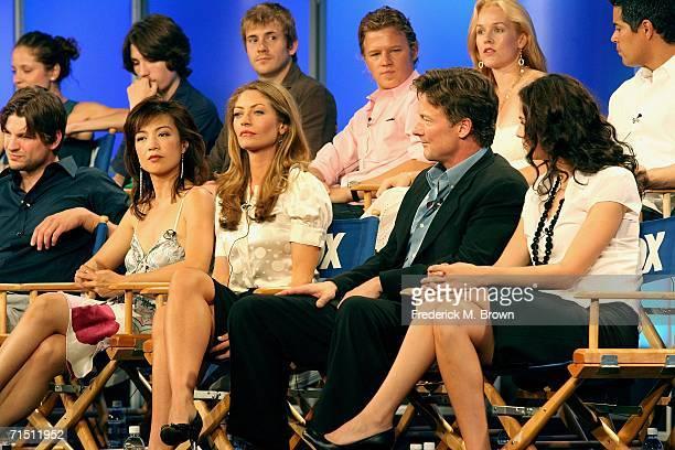 Actress Margarita Levieva, actor John Patrick Amedori, actor Robert Hoffman, actor Christopher Egan, actress Penelope Ann Miller, actor Esai Morales...