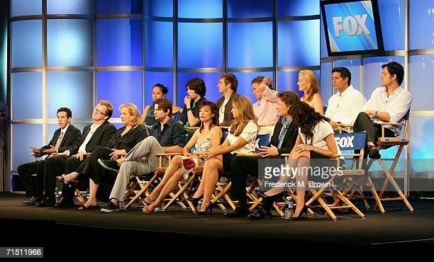 Actress Margarita Levieva, actor John Patrick Amedori, actor Robert Hoffman, actor Christopher Egan, actress Penelope Ann Miller, actor Esai Morales,...