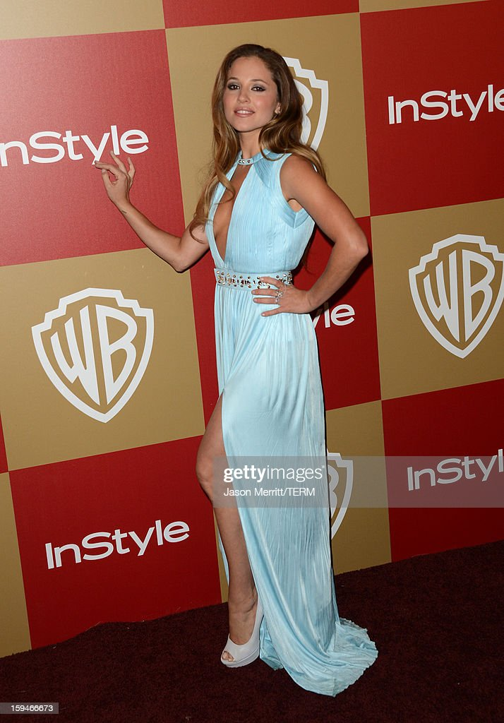 Actress Margarita Levieva attends the 14th Annual Warner Bros. And InStyle Golden Globe Awards After Party held at the Oasis Courtyard at the Beverly Hilton Hotel on January 13, 2013 in Beverly Hills, California.