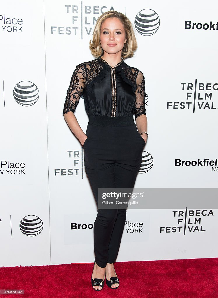 Actress Margarita Levieva attends the 2015 Tribeca Film Festival New York Premiere 'Sleeping With Other People' at BMCC Tribeca PAC on April 21, 2015 in New York City.