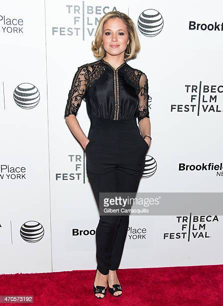 Actress Margarita Levieva attends the 2015 Tribeca Film Festival New York Premiere 'Sleeping With Other People' at BMCC Tribeca PAC on April 21 2015...