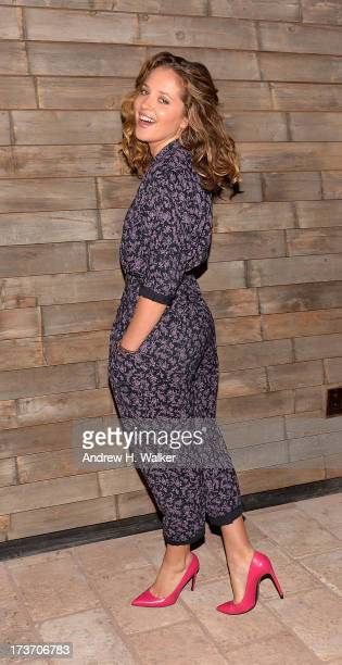 Actress Margarita Levieva attends The Cinema Society and Bally screening of Summit Entertainment's Red 2 after party at Refinery Hotel on July 16...