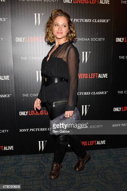 Actress Margarita Levieva attends The Cinema Society Stefano Tonchi Editor in Chief of W Magazine host a screening of Sony Pictures Classics' Only...
