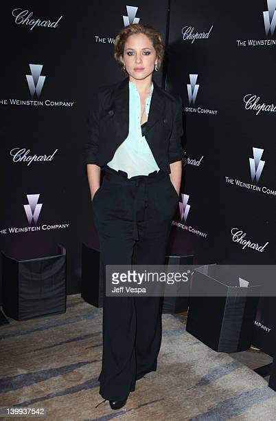Actress Margarita Levieva attends The Weinstein Company Celebrates The 2012 Academy Awards Presented By Chopard held at Soho House on February 25...
