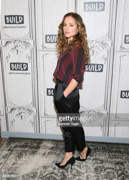 Actress Margarita Levieva visits Build to discuss the HBO series 'The Deuce' at Build Studio on September 7 2017 in New York City