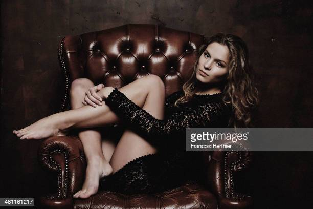 Actress Margaux Chatelier is photographed for Self Assignment on November 26 2013 in Paris France