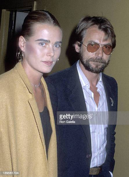 Actress Margaux Hemingway and date Bernard Foucher attend The Eyes of Laura Mars New York City Premiere on August 3 1978 at the Coronet Theater in...