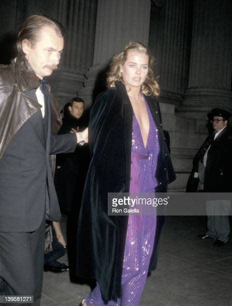 Actress Margaux Hemingway and husband Bernard Foucher attend The Metropolitan Museum's Costume Institute Gala Exhibiton of Fashion of the Hapsburg...