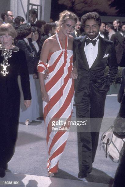 Actress Margaux Hemingway and husband Erroll Wetson attend the 48th Annual Academy Awards on March 29, 1976 at Dorothy Chandler Pavilion, Los Angeles...