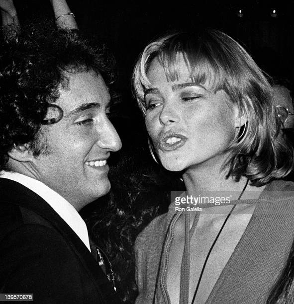 Actress Margaux Hemingway and husband Erroll Wetson attend the premiere party for The Towering Inferno on December 18 1974 at the Four Seasons...