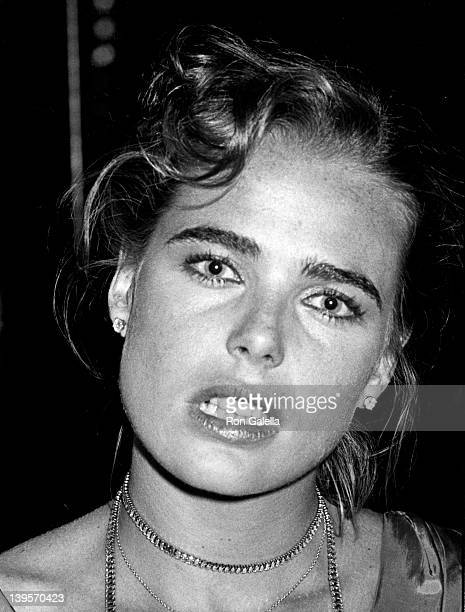 Actress Margaux Hemingway attends Coty Awards Party on September 28, 1978 at Studio 54 in New York City.