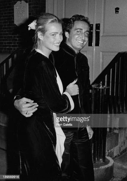 Actress Margaux Hemingway attends Halston Party for Andy Warhol on September 13, 1975 at Halston's home in New York City.