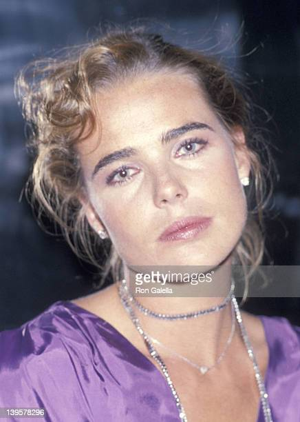 Actress Margaux Hemingway attends the 36th Annual Coty Awards After Party Hosted by Bill Kaiserman on September 28 1978 at Studio 54 in New York City