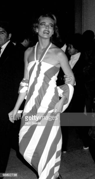 Actress Margaux Hemingway attends the 48th Annual Academy Awards at Dorothy Chandler Pavilion on March 29 1976 in Los Angeles California