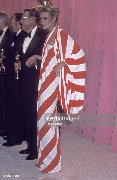 Actress Margaux Hemingway attends the 48th Annual Academy Awards on March 29, 1976 at Dorothy Chandler Pavilion, Los Angeles Music Center in Los...