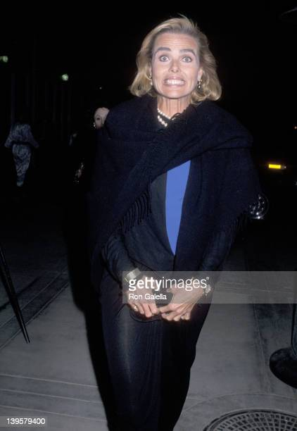 Actress Margaux Hemingway attends the First Annual Hollywood Horse Show to Benefit the Make-A-Wish Foundation on March 17, 1990 at Los Angeles...