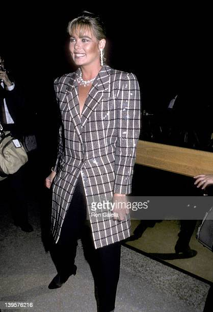 "Actress Margaux Hemingway attends The Metropolitan Museum's Costume Institute Gala Exhibition of ""Costumes of Royal India"" on December 9, 1985 at The..."