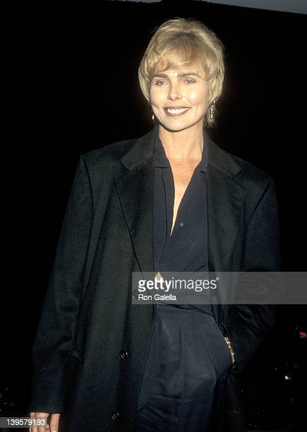 Actress Margaux Hemingway attends the Safari Planet Earth Award Honors Jim Fowler on October 30 1995 at the Roseland Ballroom in New York City