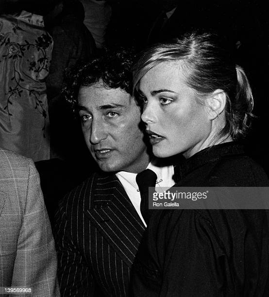 Actress Margaux Heminway and husband Erroll Wetson attend the premiere of Rosebud on March 23 1975 in New York City