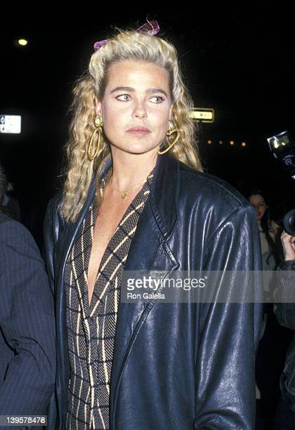 Actress Margaux Heminway attends Elaine's Restaurant 25th Anniversary Celebration on April 25, 1988 at Elaine's Restaurant in New York City.