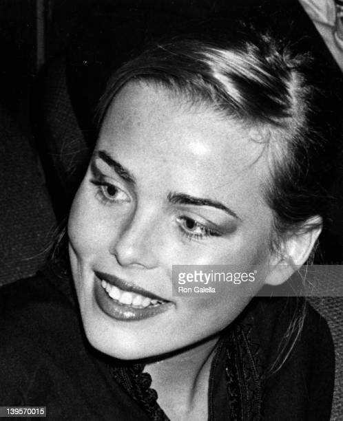 "Actress Margaux Heminway attends the premiere of ""Rosebud"" on March 23, 1975 in New York City."