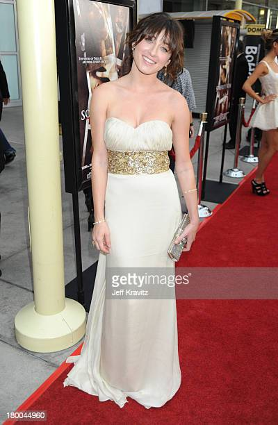 Actress Margo Harshman arrives at Summit Entertainment's Premiere of Sorority Row at ArcLight Hollywood on September 3, 2009 in Hollywood, California.