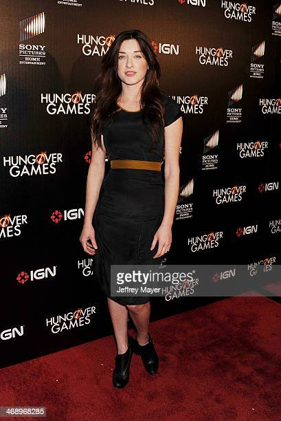 Actress Margo Harshman attends the Los Angeles Premiere of 'The Hungover Games' at TCL Chinese Theatre on February 11 2014 in Hollywood California