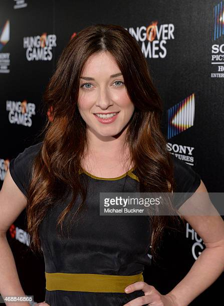 Actress Margo Harshman attends the The Hungover Games cast crew screening at TCL Chinese 6 Theatres on February 11 2014 in Hollywood California