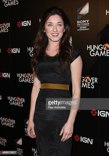 Actress Margo Harshman attends the The Hungover Games premiere at the TCL Chinese Theatre on February 11 2014 in Hollywood California