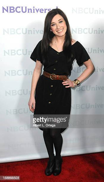 Actress Margo Harshman participates in the NBC Universal Winter Tour AllStar Party held at The Athenaeum on January 06 2012 in Pasadena California