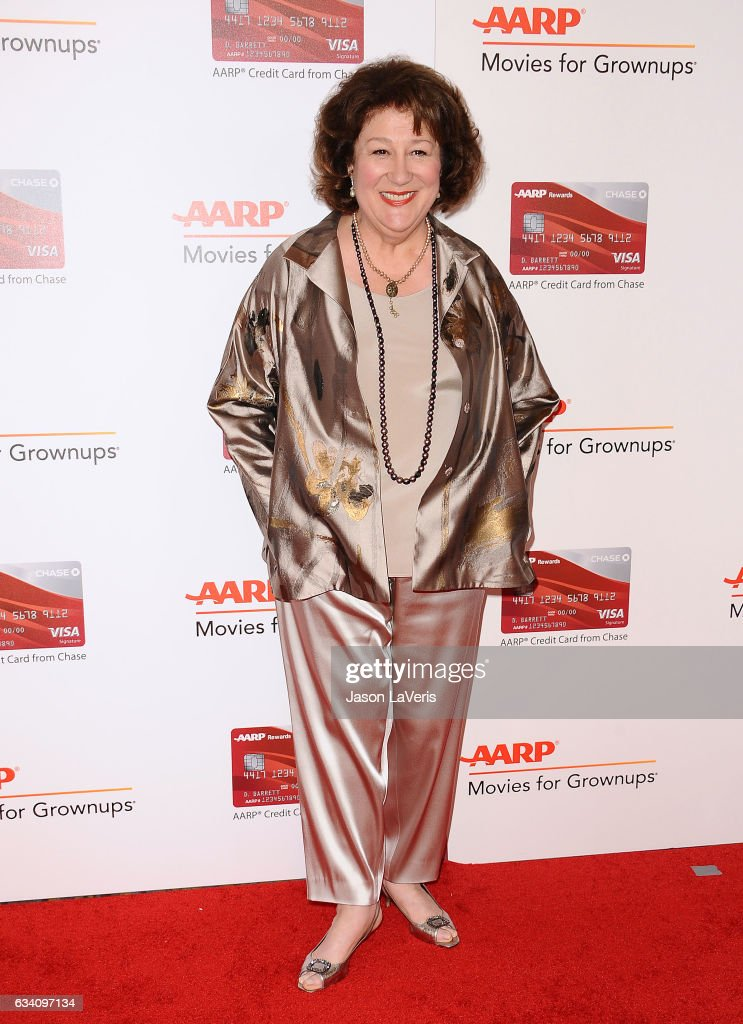 Actress Margo Martindale attends AARP's 16th annual Movies For Grownups Awards at the Beverly Wilshire Four Seasons Hotel on February 6, 2017 in Beverly Hills, California.