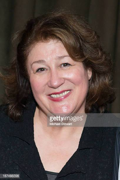 Actress Margo Martindale attends the after party for the 25th anniversary celebrity stage reading of Steel Magnolias at Veranda on December 3 2012 in...