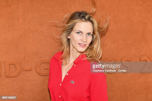 Actress Margot Bancilhon attends the 2018 French Open Day Twelve at Roland Garros on June 7 2018 in Paris France