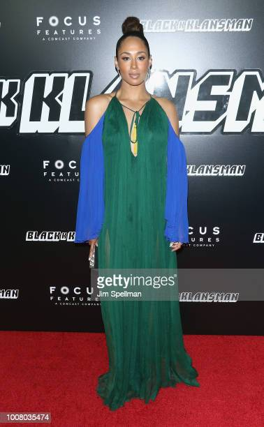 Actress Margot Bingham attends the 'BlacKkKlansman' New York premiere at Brooklyn Academy of Music on July 30 2018 in New York City
