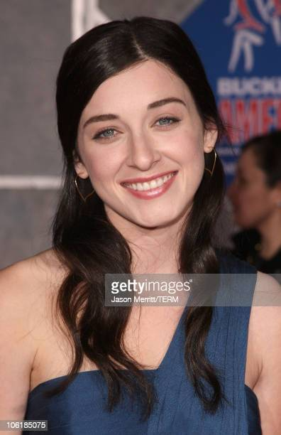 Actress Margot Harshman attends the premiere of Walt Disney Pictures' 'College Road Trip' at the El Capitan Theatre on March 3 2008 in Hollywood...