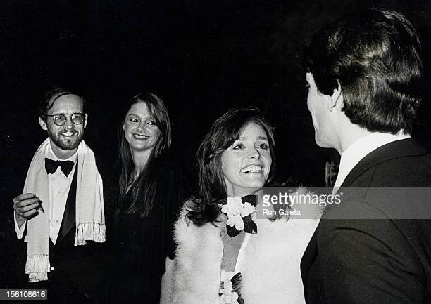 Actress Margot Kidder and writer Michael O'Donaghue actress Gae Exton and actor Christopher Reeve attending the New York premiere of 'Superman' on...